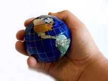De werelden een kleine plaats Royalty-vrije Stock Fotografie