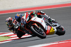 De Wereldkampioenschap van FIM Superbike - Ras 2 Stock Afbeeldingen