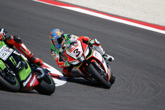 De Wereldkampioenschap van FIM Superbike - Ras 2 Stock Afbeelding