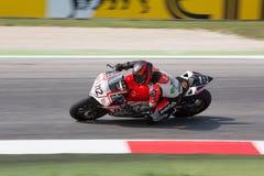 De Wereldkampioenschap van FIM Superbike - Vrije Praktijk 3de Zitting Royalty-vrije Stock Fotografie