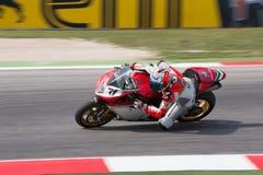 De Wereldkampioenschap van FIM Superbike - Vrije Praktijk 3de Zitting Royalty-vrije Stock Afbeelding