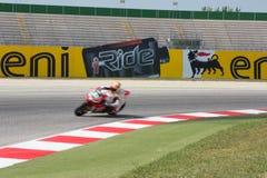 De Wereldkampioenschap van FIM Superbike - Vrije Praktijk 3de Zitting Stock Afbeelding