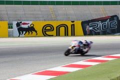 De Wereldkampioenschap van FIM Superbike - Vrije Praktijk 3de Zitting Stock Foto's