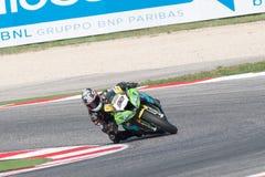 De Wereldkampioenschap van FIM Superbike - Vrije Praktijk 3de Zitting Stock Fotografie