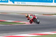 De Wereldkampioenschap van FIM Superbike - Vrije Praktijk 3de Zitting Royalty-vrije Stock Afbeeldingen
