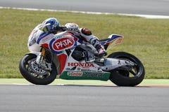 De Wereldkampioenschap van FIM Superbike - Vrije Praktijk 3de Zitting Stock Afbeeldingen