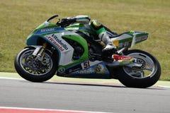 De Wereldkampioenschap van FIM Superbike - Vrije Praktijk 3de Zitting Royalty-vrije Stock Foto's