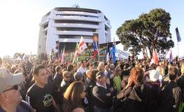 De wereldkop 2011 van Rygby van de parade Stock Afbeelding