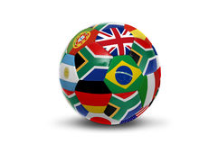 De wereldkop van Zuid-Afrika Royalty-vrije Stock Fotografie