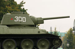 2de wereldoorlog Russische tank Stock Afbeelding