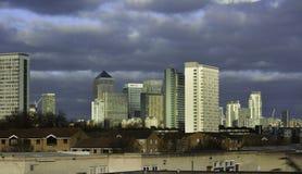 De werf Londen van de kanarie royalty-vrije stock fotografie