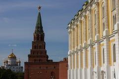De werf van de arsenaalkamer, het Kremlin, Rusland Stock Foto's