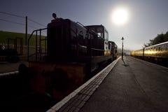 De werf van de trein royalty-vrije stock foto's
