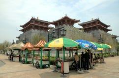 De Werf van de Visser van Macao royalty-vrije stock foto
