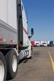 De Werf van de vrachtwagen Stock Fotografie