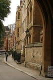 De werf van Deanery in de Abdij van Westminster Royalty-vrije Stock Foto's