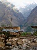De Werf van het Himalayantimmerhout Royalty-vrije Stock Afbeeldingen