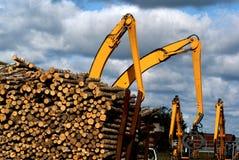 De werf van het hout Stock Fotografie