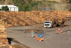 De Werf van het hout Stock Foto