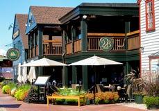 22 de Werfrestaurant van Bowen, Nieuwpoort, Rhode Island Royalty-vrije Stock Afbeelding