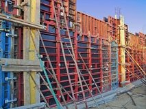 De Werken van de bouw 2 Stock Foto's