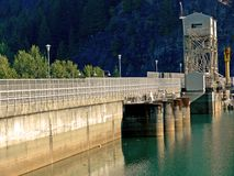 De Werken van de dam stock foto's