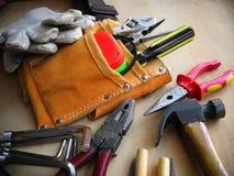 De werkende Achtergrond van Hulpmiddelen stock foto