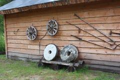De werkende hulpmiddelen van onze voorvaderen Royalty-vrije Stock Foto's