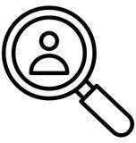 De werkgelegenheid isoleerde Vectorpictogram dat zich gemakkelijk kan wijzigen of uitgeven vector illustratie