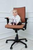 De werkgever van de baby Stock Afbeelding