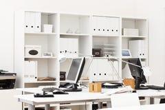 De werkplaats van het bureau Stock Foto
