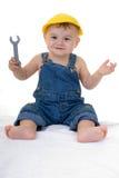 De werktuigkundige van de baby Stock Afbeeldingen