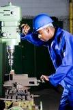 De werktuigkundige van de fabriek Stock Afbeelding