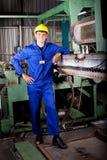 De werktuigkundige van de zware industrie Stock Afbeeldingen