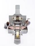 De werktuigmachine van de hand kleeft samen een film Royalty-vrije Stock Fotografie