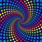 De Werveling van de regenboog Royalty-vrije Stock Afbeeldingen