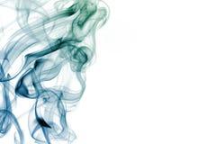 De Werveling van de rook Stock Foto's