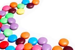 De werveling van het suikergoed Stock Afbeeldingen
