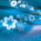 De werveling van Kerstmis Stock Foto's