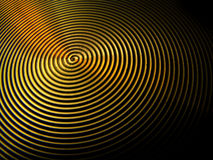 De wervelingen van de duizeligheid groeft de ringen van cirkelsrimpelingen Royalty-vrije Stock Foto's