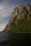 De westelijke Fjorden van de Beekvijver Stock Afbeelding