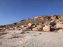 De westelijke steppe van Kazachstan stock fotografie