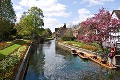 De Westgate trädgårdarna i Canterbury Kent Arkivbilder
