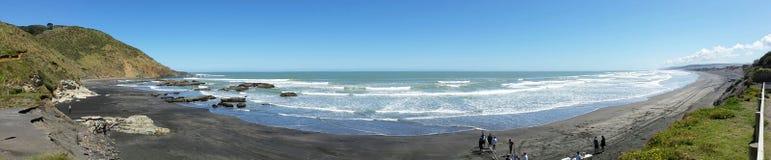 De westkust van Nieuw Zeeland royalty-vrije stock afbeeldingen