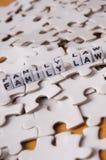 De Wet van de familie Stock Foto