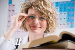 De wetenschapper van de chemicus Stock Fotografie