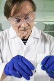 De wetenschapper van de chemie Royalty-vrije Stock Afbeelding