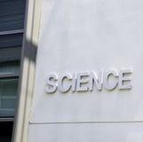 De wetenschapsbouw Stock Fotografie