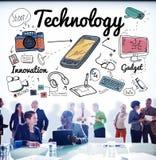 De Wetenschapsconcept van Internet van de technologie Digitaal Innovatie royalty-vrije stock afbeelding