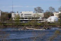 De Wetenschapsmuseum van de Staat van Jersey in Trenton Stock Fotografie